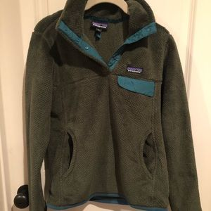 Patagonia re-tool snap fleece pullover small